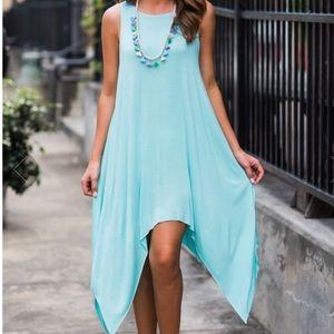Dresses & Skirts - Flowy & Light, Mint Dress